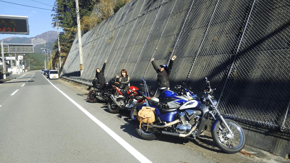 11月秋ツーリング@奈良の十津川村へ蕎麦を食べに行く女子ツー_2