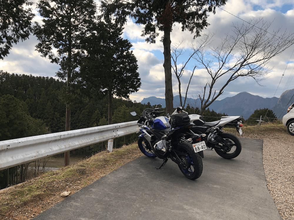 関西の絶景スポット「曽爾高原」へ冬ツーリング_18