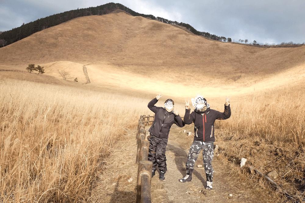 関西の絶景スポット「曽爾高原」へ冬ツーリング_23