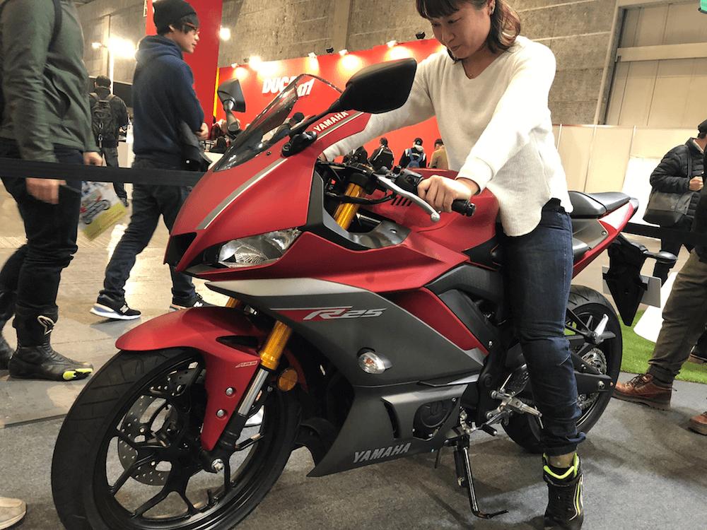 新型R25バイク