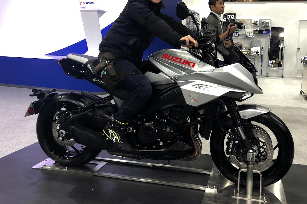 スズキカタナバイク