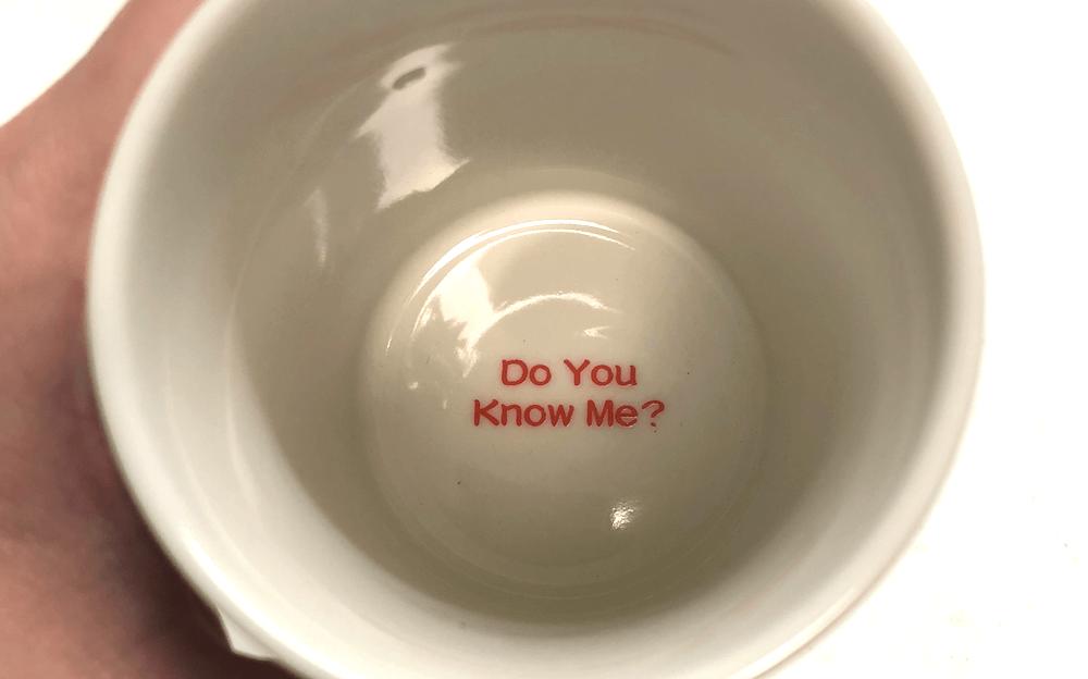 スズキの聖杯の湯飲み
