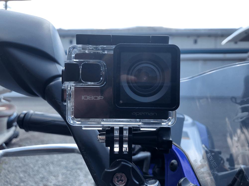 アクションカメラ付けて和歌山ツーリング