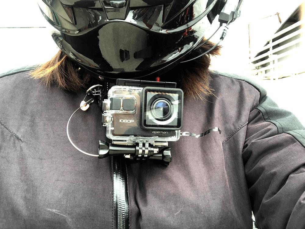 白浜ツーリング、アクションカメラチャレンジ