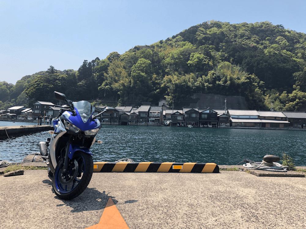 伊根の舟屋ツーリング12