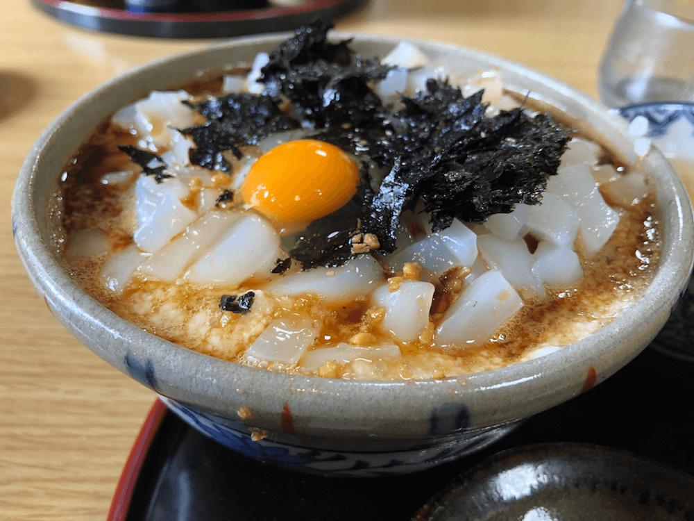 ドライブインよしだ名物「イカ丼」は飲み物だ!福井県ツーリングを楽しむ。7