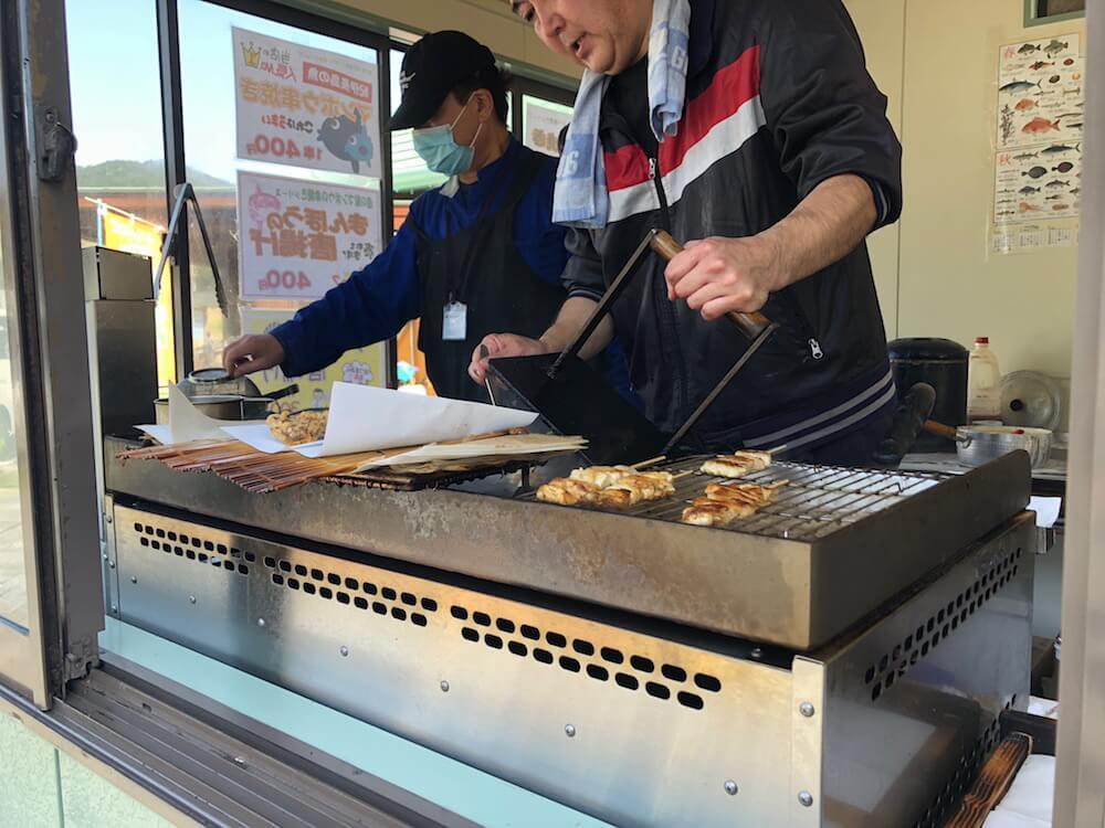 紀伊長島ツーリング マンボウの串 道の駅