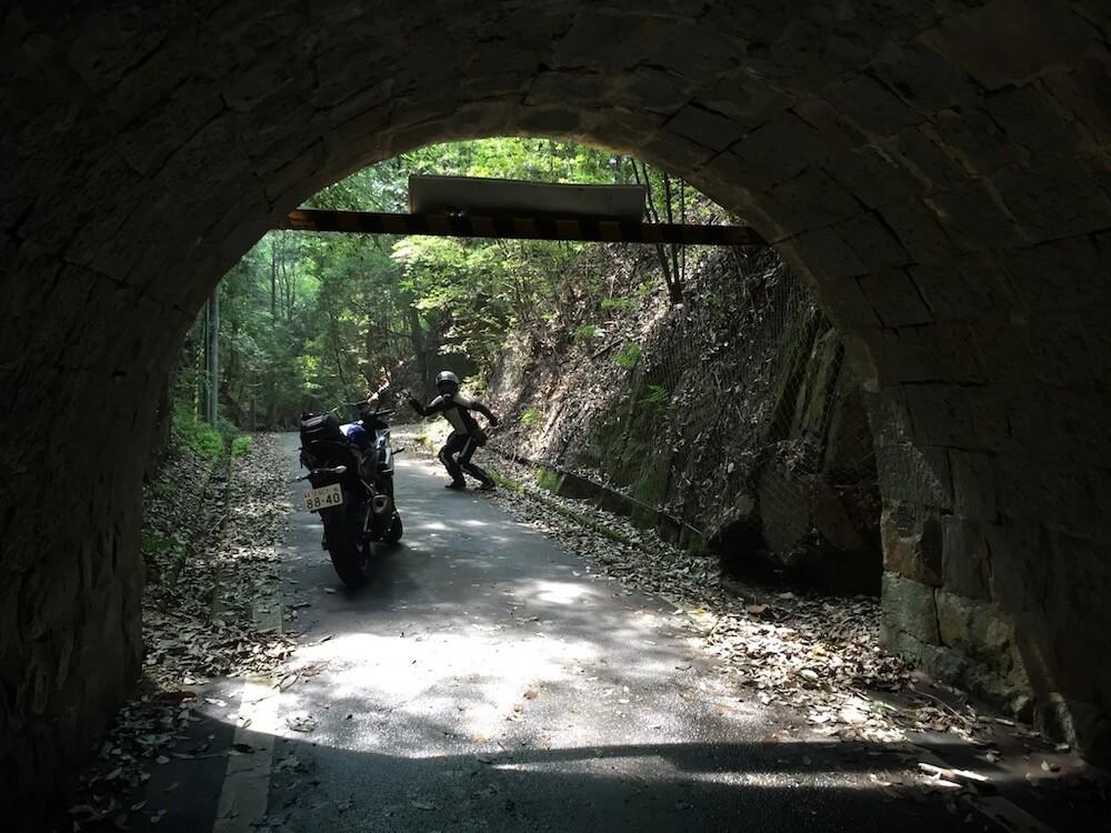 くろまんぷ ツーリング バイク